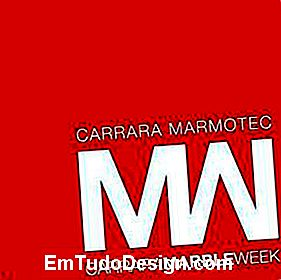 logo Carrara Marble Week