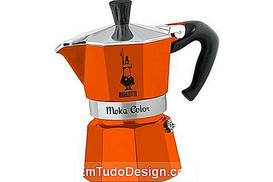 Orange Moka Color von Bialetti