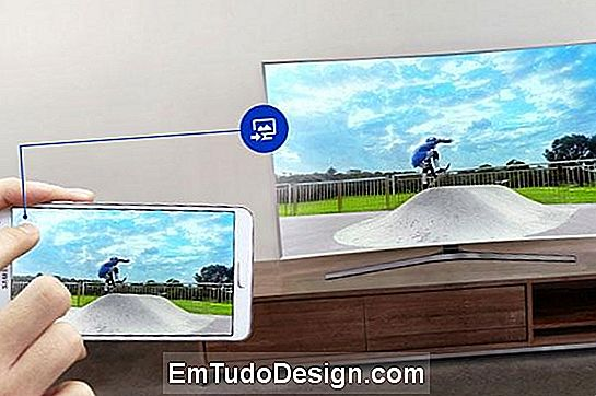 Smartphone monitor tv interaktion