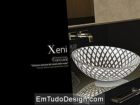 Xeni handfat av Glass Design