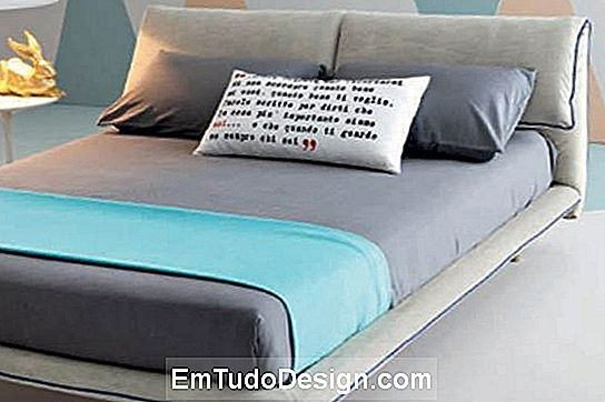 Moden bed Blues modelo de Letti Outlet