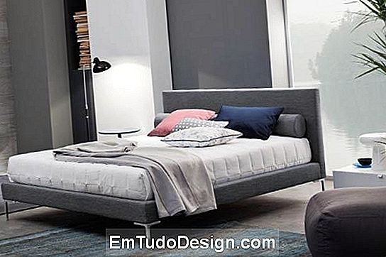 Modelo de cama minimalista Essential Master of Beds Outlet