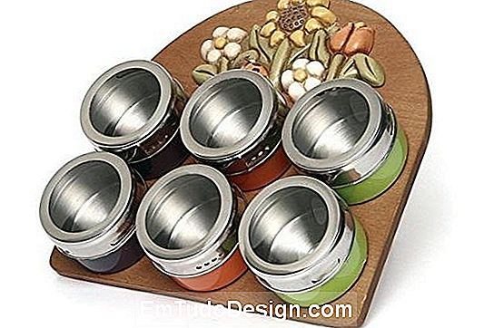 Magnetic spice rack Thun