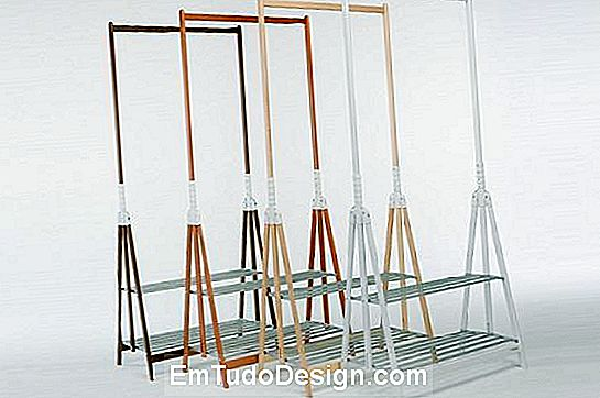 Stand Up Clothes Rack por Foppapedretti