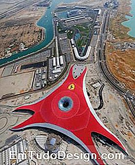 Ferrari World - Top View (imagesource: benoy.com)