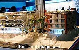 Model van Masdar City 2