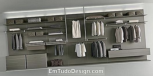 Tegn møbler Rimadesio walk-in closet Abacus
