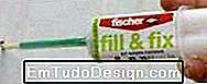 Fissaggi Fischer: fill & fix