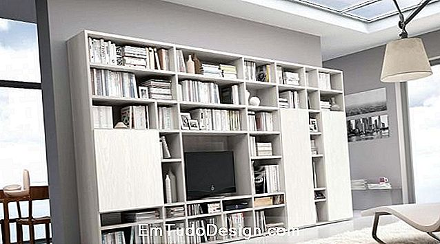 Librería modular de pared Sololibrerie.it