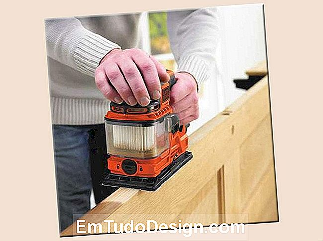 Lixadeira orbital BLACK + DECKER