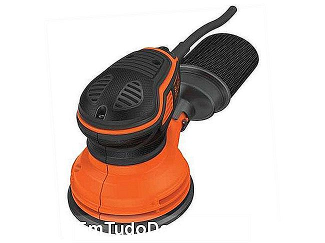 Lixadeira rotorbital BLACK OR DECKER