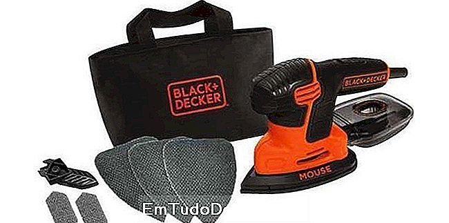 BLACK + DECKER Kit de lixadeira para ratos