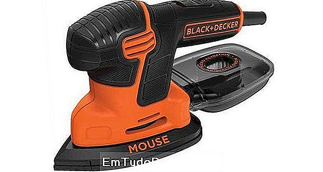 Lixadora 750 W BLACK + DECKER