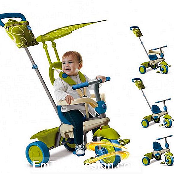 Tricycle med parasoll, fra Toys Center