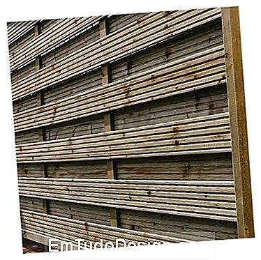 Windbreak paneler, ved Regno del Legno