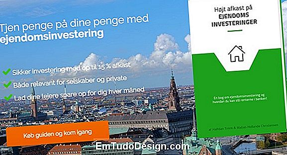 Opdele en ejendom for at investere