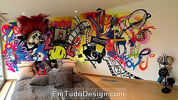 Papeles de pared: interior de graffiti