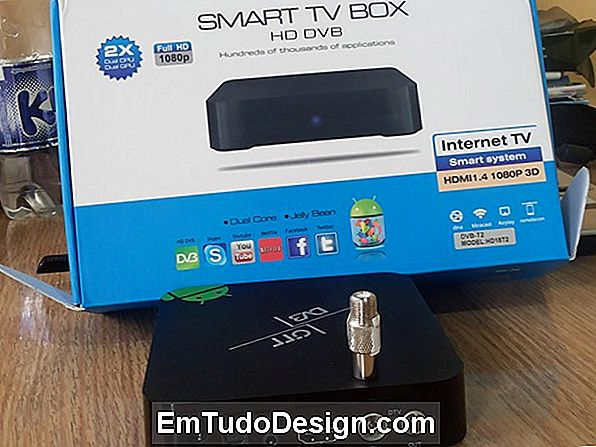 Caja de TV Android y digital terrestre