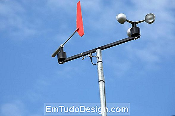 Anemômetro para Do-it-yourself