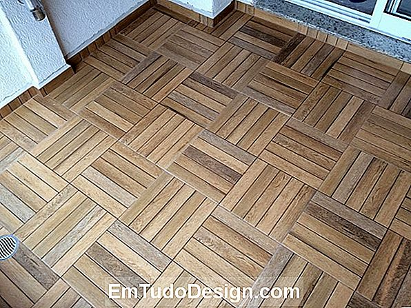 Piso: o charme do parquet industrial