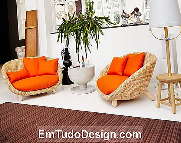 Poltronas com design intemporal