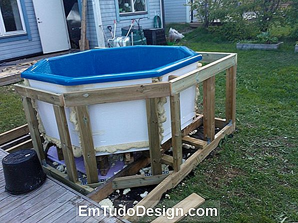 Den DIY bubbelpool bad