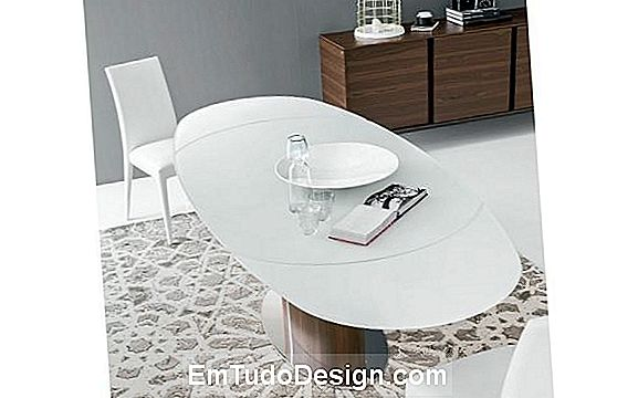 Odyssey oval table por Calligaris