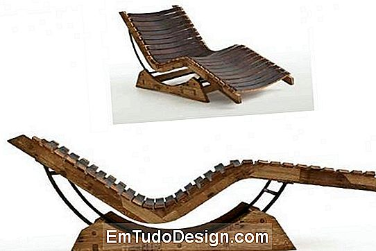 Chaise a San Patrignano Design Lab barrique-jában