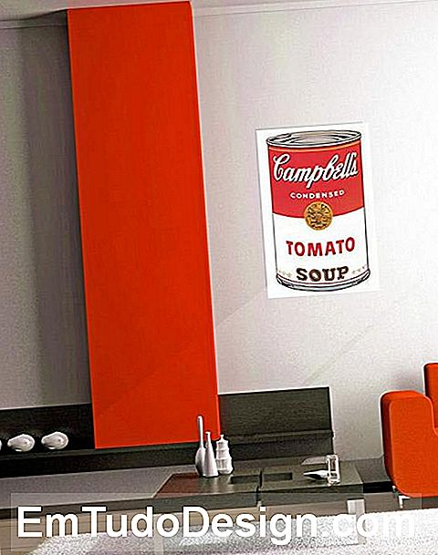 Dekorativt panel Lattina Campbell's Soup