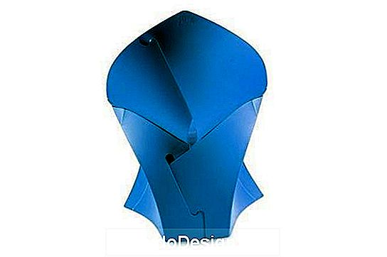 Flux Chair Flux Chair offen blau