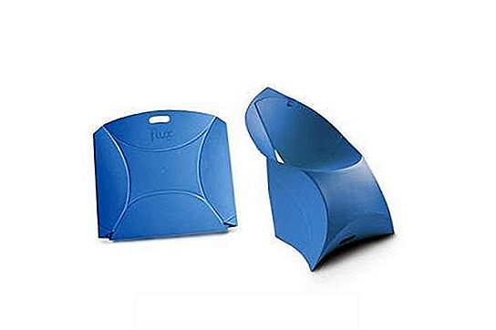 Flux Cadeira dobrável infantil Flux Chair blue