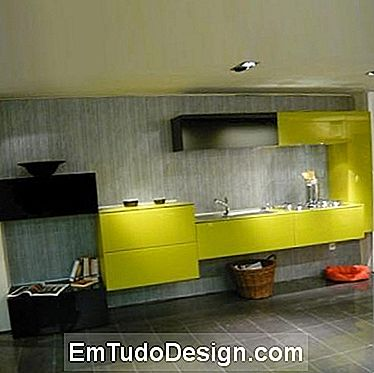 Greenery kitchen by Lago outlet