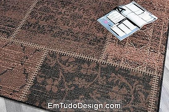 Alfombra vintage patchwork de Tappetosumisura.it